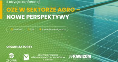 konferencja OZE w sektorze AGRO – nowe perspektywy